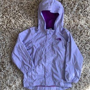 Windbreaker jacket, raincoat.